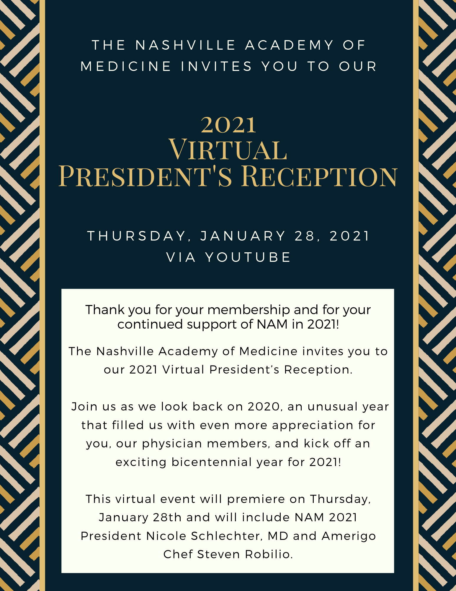 2021 President's Reception