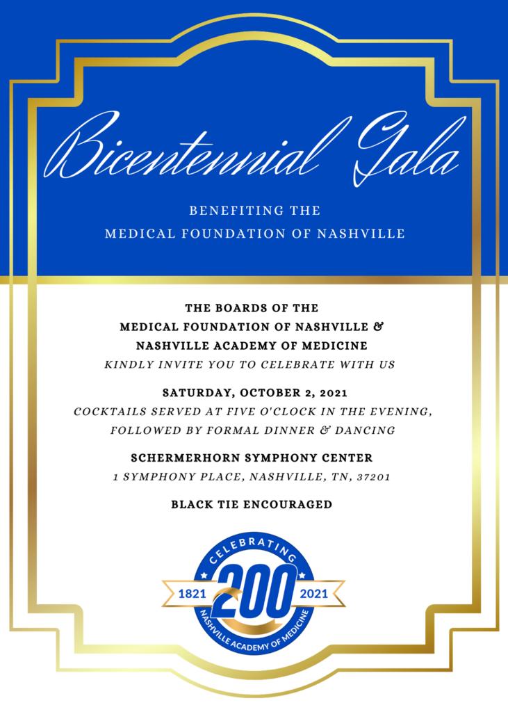 NAM's Bicentennial Gala