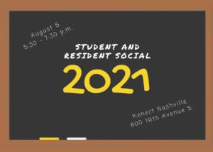 Student and Resident Social