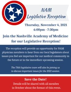 2021 NAM Legislative Reception